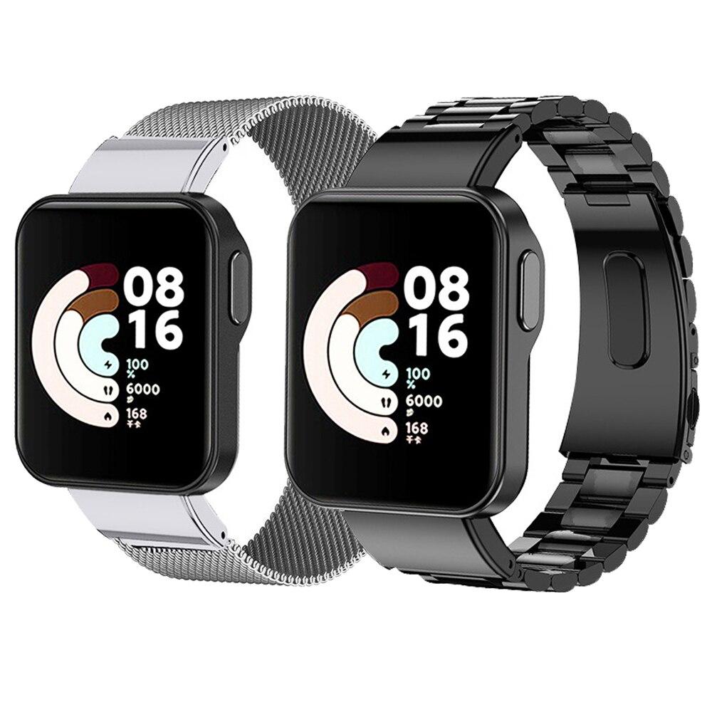 Metal Bracelet For Xiaomi Watch Lite Strap Stainless Steel Watchband For Xiaomi Mi Watch Lite Metal