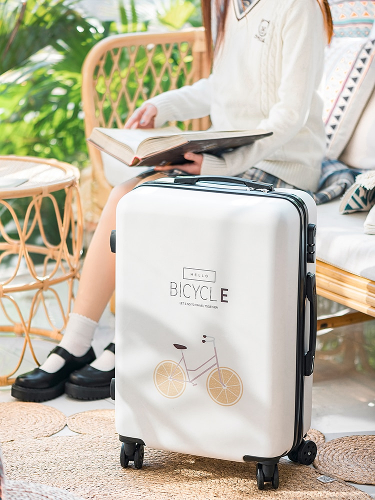 Travel Suitcases on Wheels Cartoons Comics Colorful Children's Suitcases Large-capacity Designer Carry on Luggage Storage Case