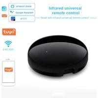 Controleur WIFI intelligent IR  telecommande vocale universelle  commande vocale Via lapplication Smart Life Tuya  fonctionne avec Alexa Google Home