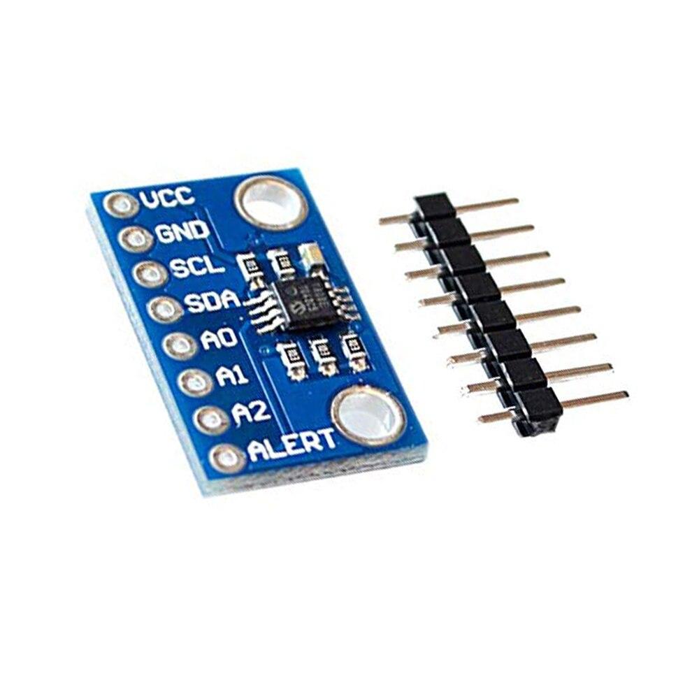 Sensor de temperatura de alta precisión MCP9808 I2C Módulo de placa de adaptación 2,7 V-5 V voltaje lógico para Arduino
