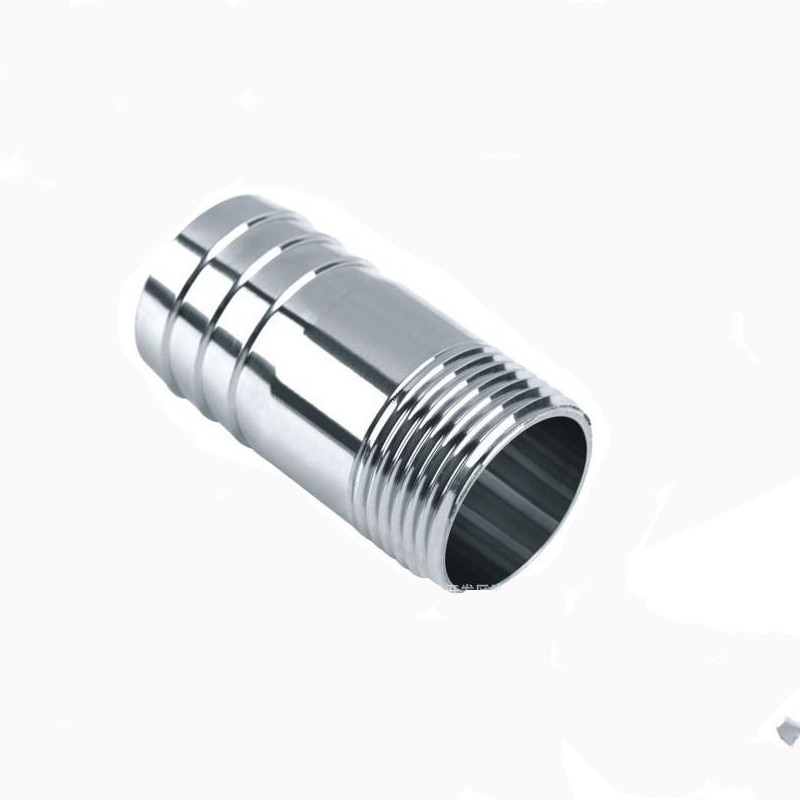"""6 8 10mm od hose barb x 1 8"""" 1 4"""" 3 8"""" 1 2"""" 3 4"""" 1"""" bsp male thread stainless steel barbed pipe fitting connector coupler ada BSP Male Thread Hose Tail Barb 304 Stainless Steel Threaded Pipe Fitting Connector Coupler For Water Oil Air 1/8""""1/4""""3/8""""1/2"""