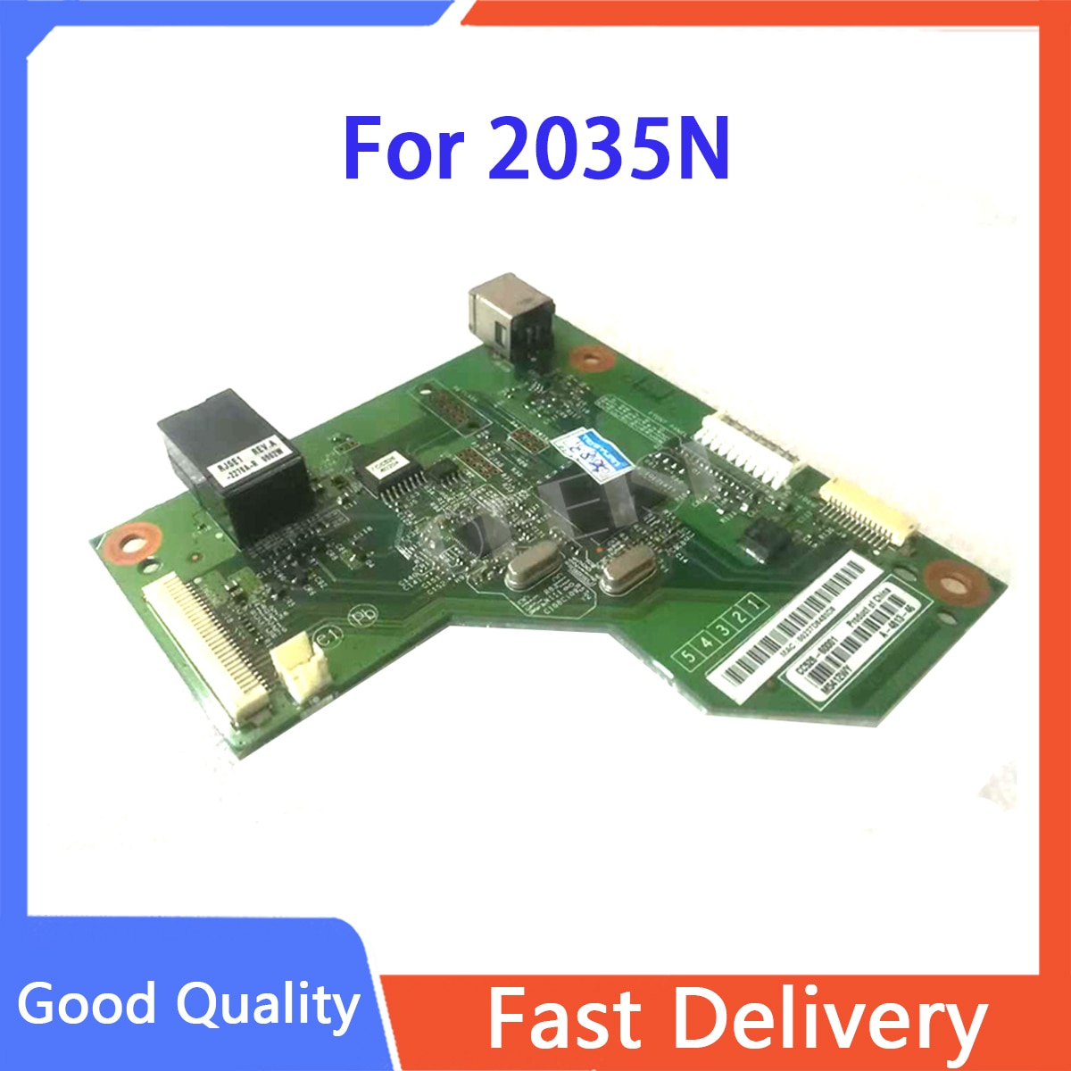 Original CC526-60001 Formatter Board PCA ASSY logic Main Board MainBoard mother board for HP Laserjet P2035N p2035 printer parts недорого