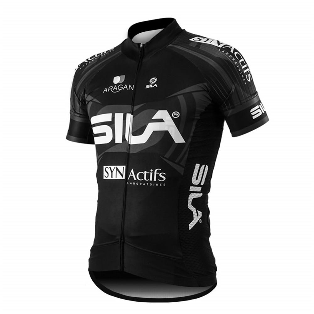 Sila-ropa deportiva para hombre, maillot de ciclismo profesional para verano, 2020