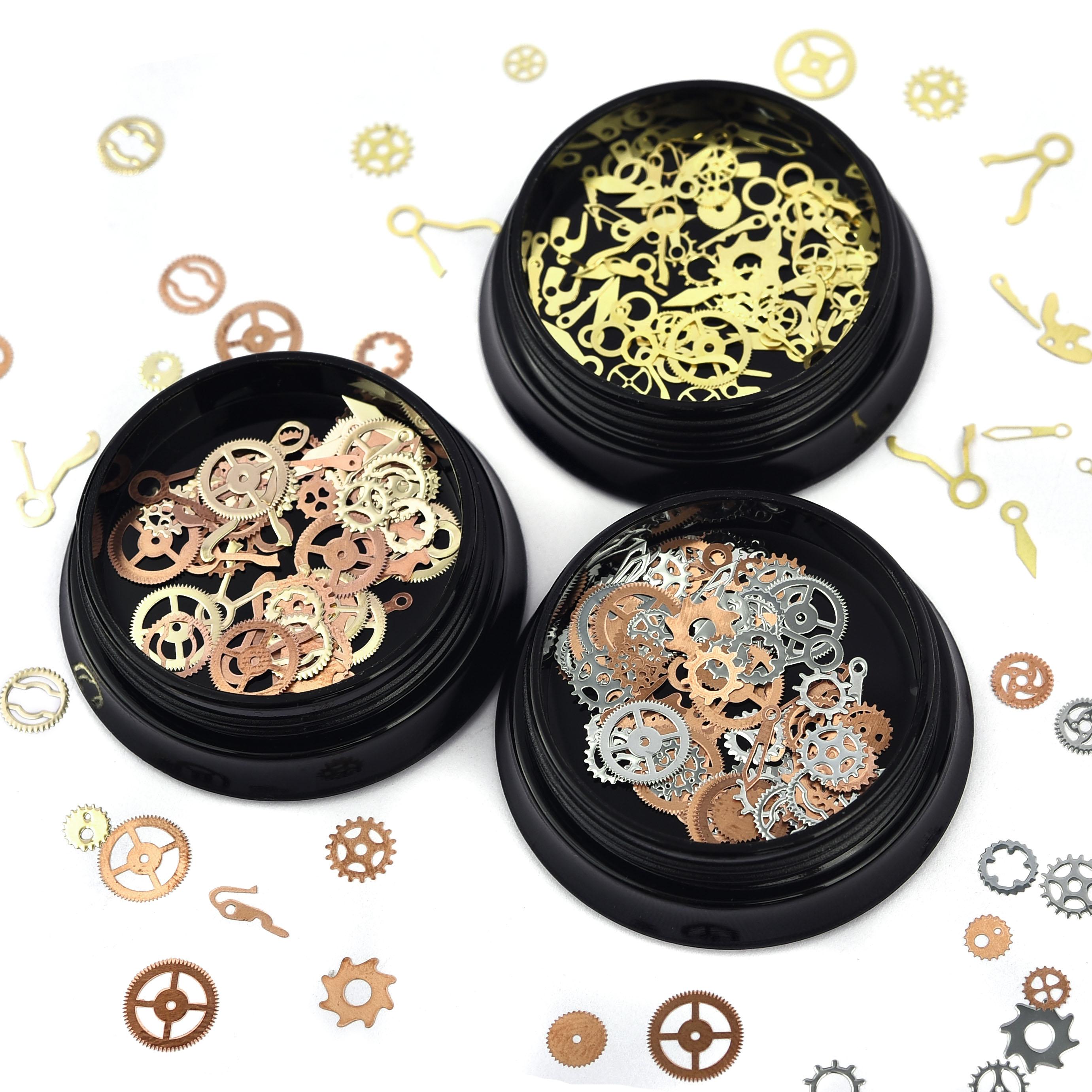 Мини-металлическая-шестерня-Смола-наполнение-Золото-Серебро-Цвет-для-diy-Кристалл-УФ-отверждаемая-эпоксидная-смола-аксессуары-для-изготовл