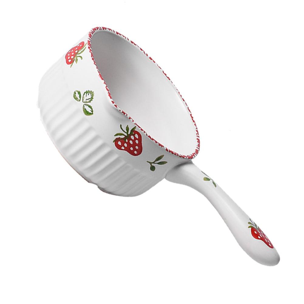 1 قطعة 1.2L السيراميك حساء صلصة عموم المنزل الطبخ وعاء مقاومة للحرارة الطفل الغذاء وعاء
