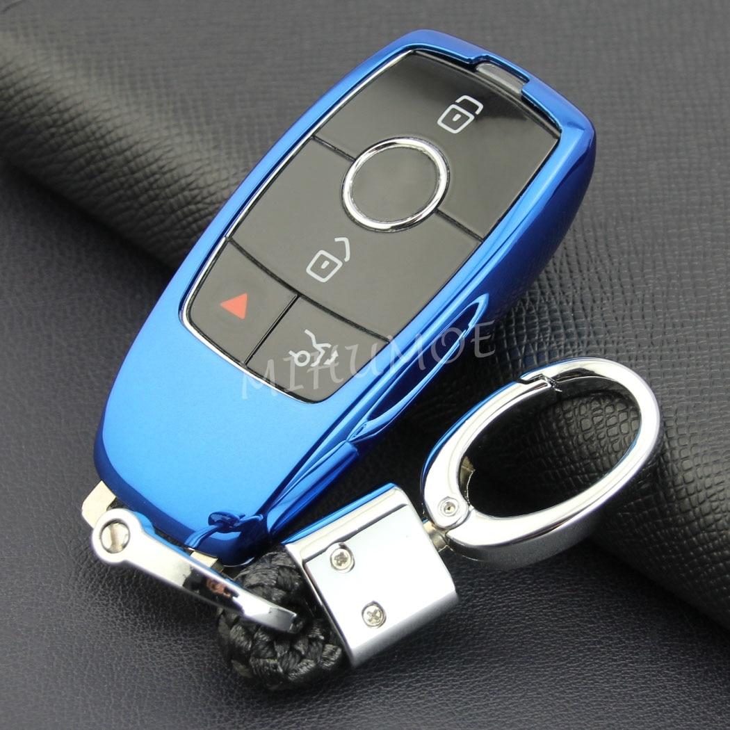 Por Mercedes A B C E S GLC sobre las GLB La CIA CLS clase W177 W247 W205 C205 W213 S213 X247 X253 C253 V167 llave Fob cadena