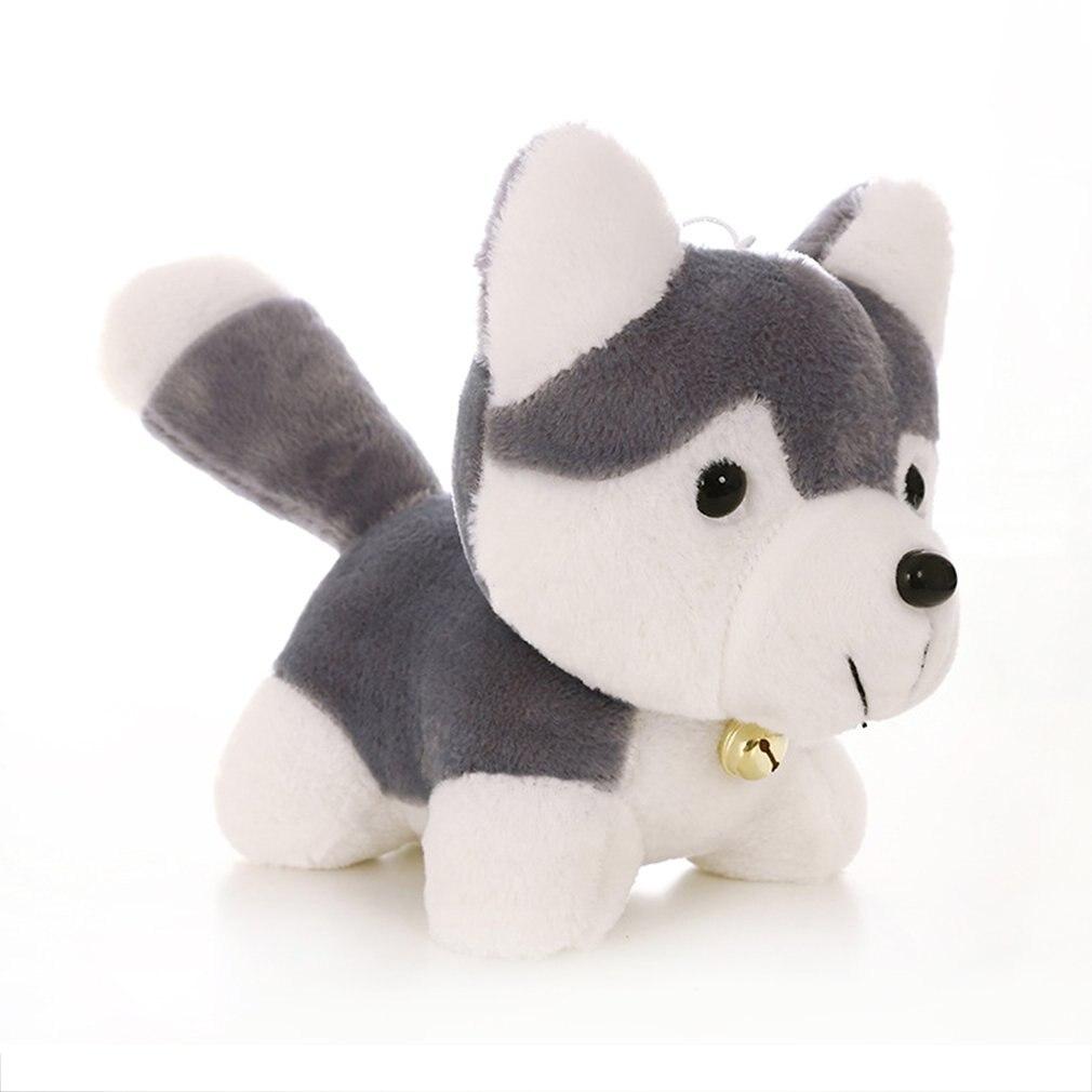 OCDAY-peluche de Husky de 18CM para niños, perro de imitación, muñeca para...