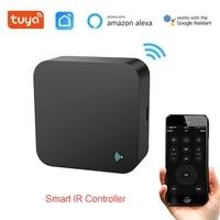 Tuya     telecommande universelle a infrarouge intelligente  pour television  climatiseur  commande vocale  fonctionne avec Alexa Google Home