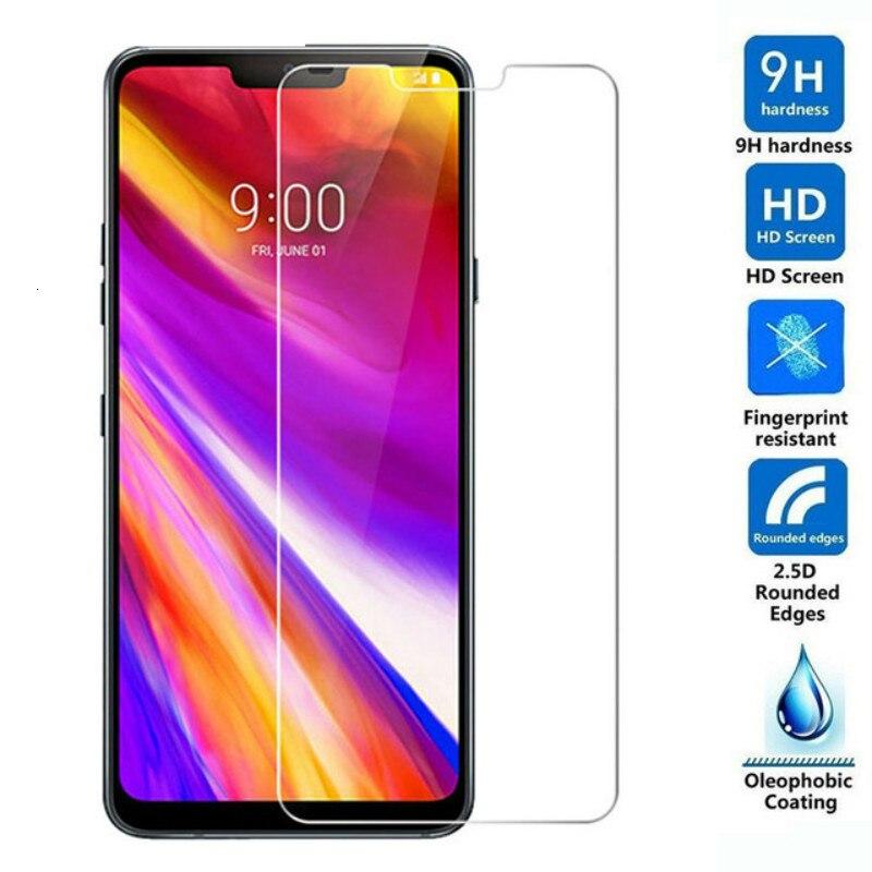 Vidrio Templado 2,5d para LG G7 ThinQ, película protectora para LG G7 Fit 9H, funda protectora de pantalla para LG G7 One, cristal de seguridad de 6,1 pulgadas