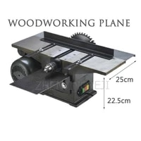 desktop multifunction woodworking machine tools electric planer table saw chainsaw planer bench plane triple woodworking plane