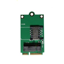 NGFF M.2 미니 Pcie SIM 카드 슬롯 3G 4G 모듈 EM7355 EM7455 EM7430 EM7305 EM7455 MU736 ME906E ME906V ME906S N5231J