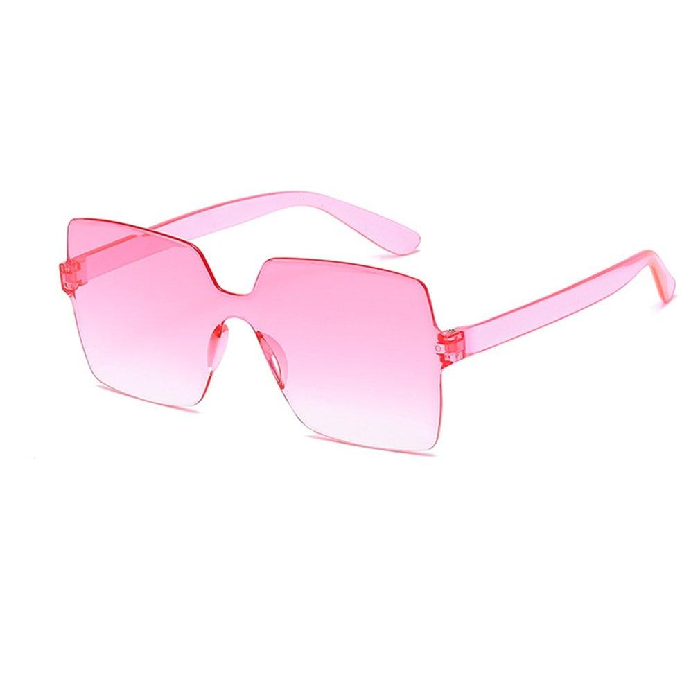 Большие Квадратные Солнцезащитные очки для женщин 2020 Роскошные брендовые модные плоские красные черные прозрачные линзы цельные мужские и...