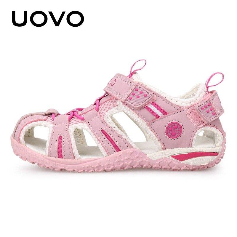 Uovo-صنادل شاطئ للأطفال ، أحذية صيفية ، مقاس 2 ، 3 ، 4 ، 5 ، 6 ، 7 ، 8 ، 9 ، 10 ، 11 ، 12 ، 13 سنة ، جديد لعام 2020