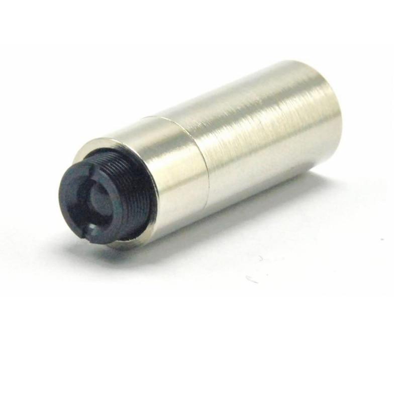 100pcs Adjusted 12x30mm Metal 5.6mm Laser Diode Housing Host Case with Collimating Lens