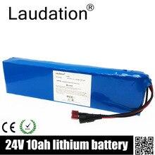 Laudation vélo électrique Lithium Ion batterie 24V 10ah 29.4V 10000mAh 15A BMS 250W 350W 18650 batterie Pack fauteuil roulant moteur