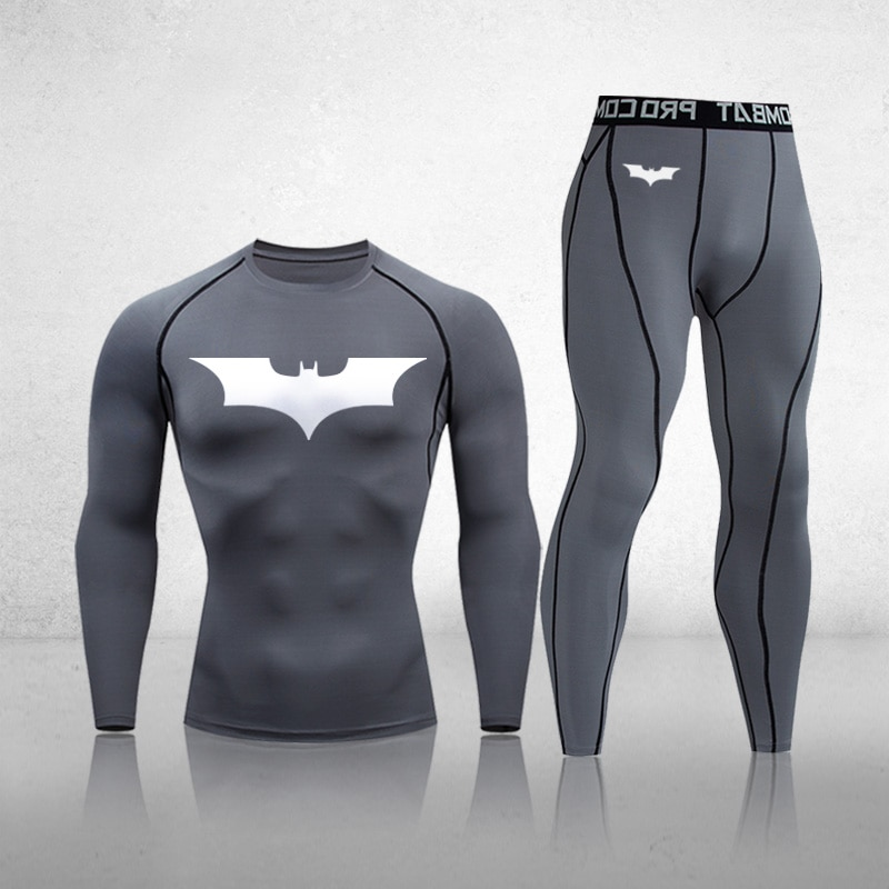 Thermal Underwear Sets Men Winter Long Johns Compression Underwear Sweat Quick Drying Fitness Training Gym Sports Base Clothing top quality new thermal underwear men underwear sets compression fleece sweat quick drying thermo underwear men clothing s 3xl