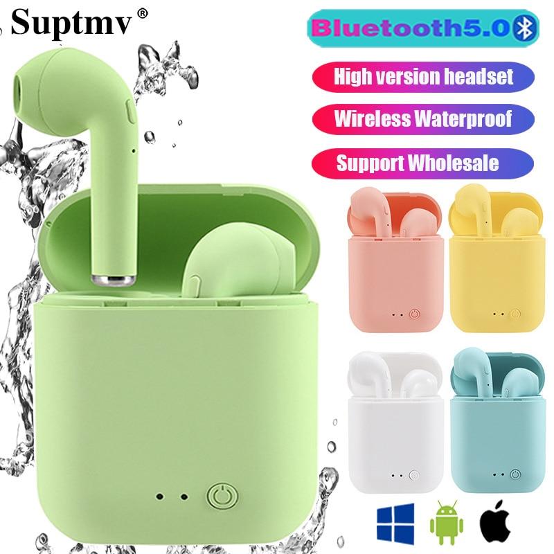 Mini-2 Earphones Wireless Bluetooth Headphone Waterproof Earpieces Sport Earbuds For Huawei Iphone OPPO Xiaomi TWS Music Headset