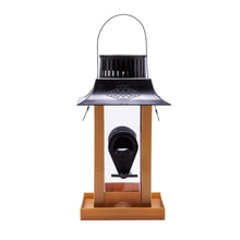 Solar Powered hang Bird Feeder, Bird Feeders Perfect for Garden Decoration and Bird Watching for Bir