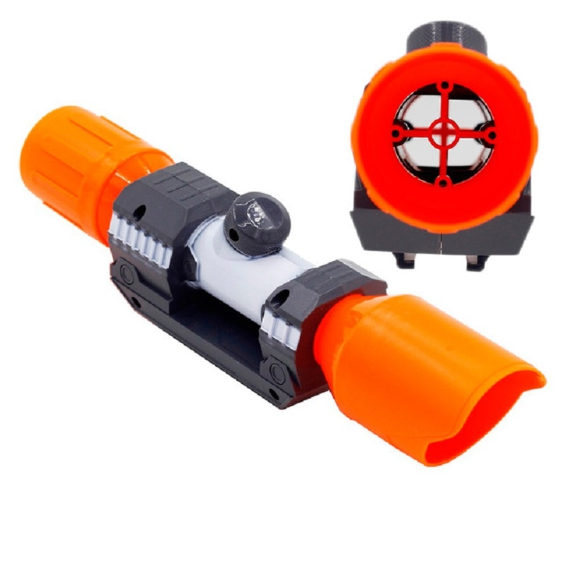 compatible modified part front tube sighting device for nerf elite series fit for kids toy gun Universal Compatible Modified Part Front Tube Sighting Device Toy Accessories Scope Sight for Nerf Elite Series 6.4x4.5x23.5 cm