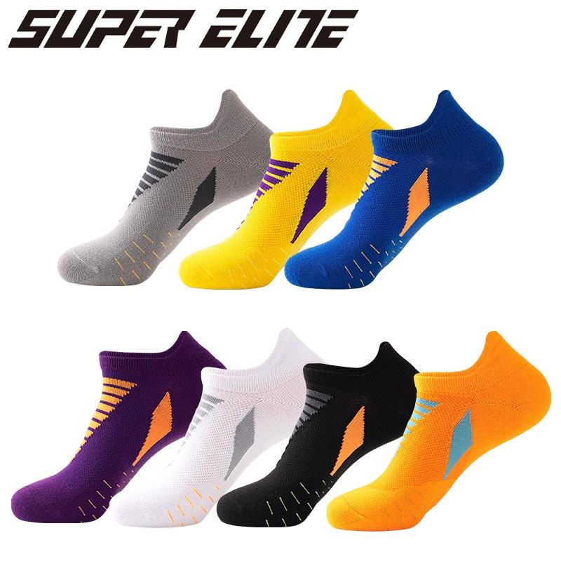 5 Pair/Lot  2021 New Spring Summer Running Socks Professional Sports Socks Quick-Drying Outdoor Basketball Breathable Ship Socks