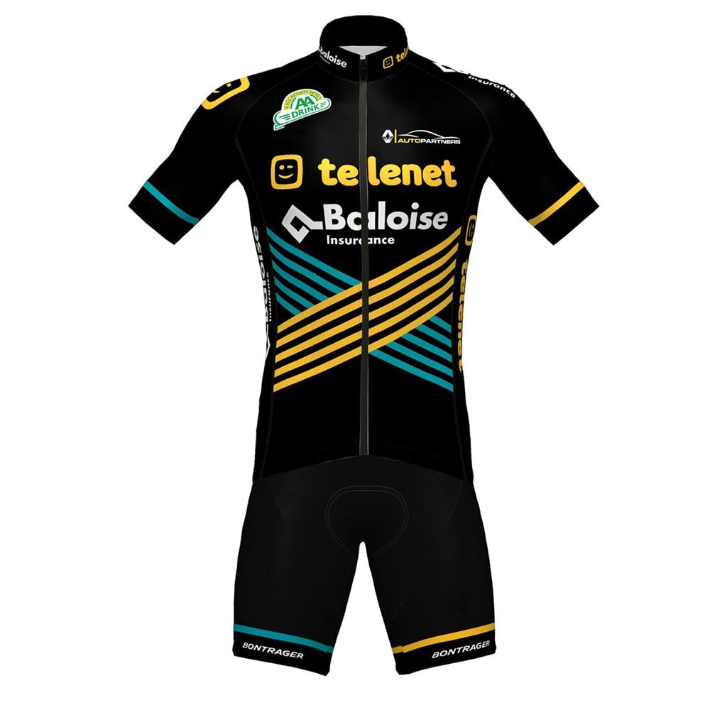 AliExpress - 2020 new cycling team jersey sets Telenet Baloise bike suit jersey and bib shorts ropa cclismo go pro bike team racing clothing