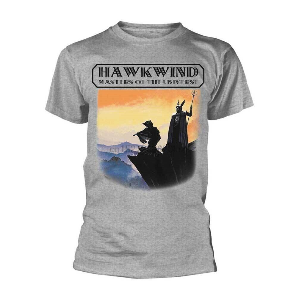 Hawkwind Master Of The Universe camiseta gris nueva