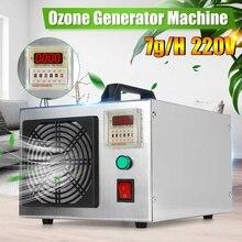 가정용 220V 오존 발생기 공기 청정기 타이밍 오존 발생기 기계 O3 Ozono 발전기 탈취제 소독 공기 청정기 EU