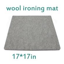 17x17 in Wool Pressing Mat Ironing Pad High Temperature Ironing Board Felt Ironing Board Felt Home Supplies pressing mat