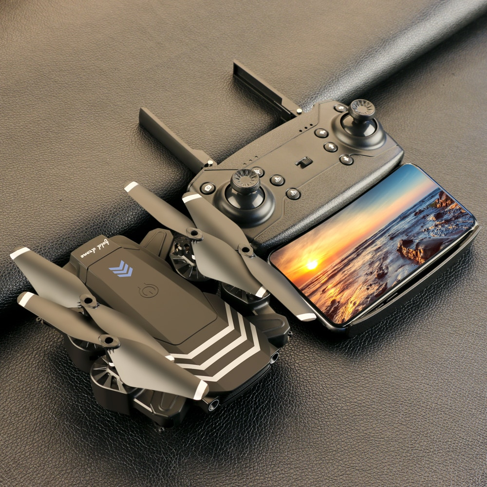 2021 New RC Drone LS11PRO WIFI FPV With 4K HD Camera Hight Hold Mode One Key Return Foldable Arm Qua