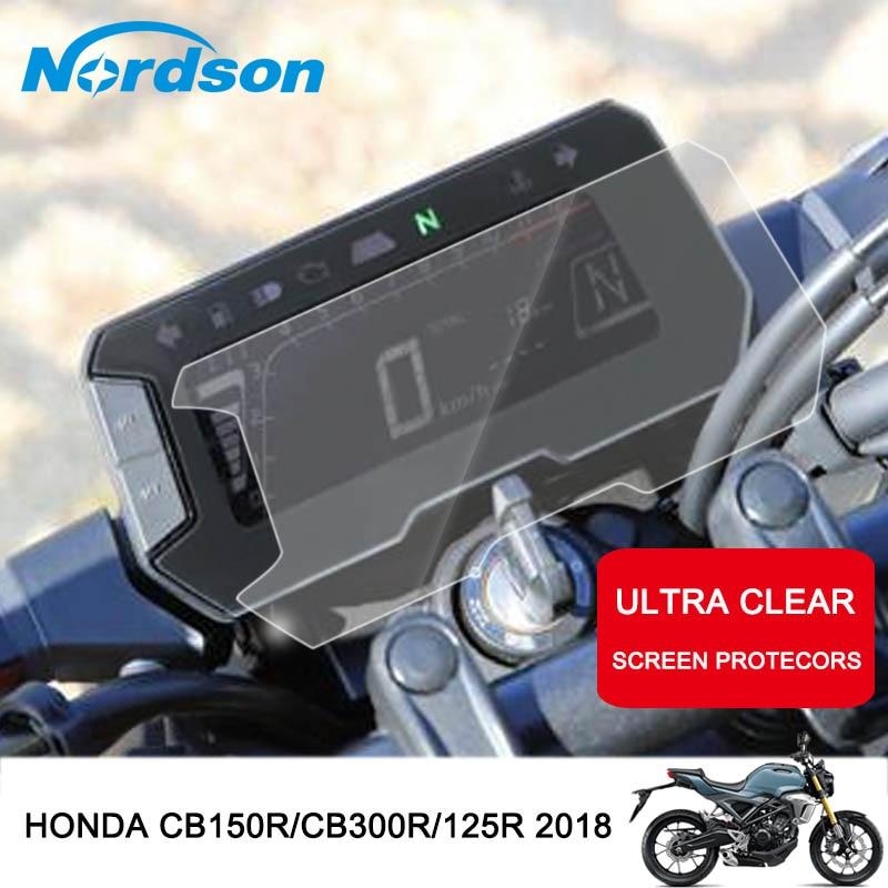 Кластерный дисплей Nordson для мотоцикла, Защитная пленка для Honda CB125R CB 125R CB150R CB 150R CB300R 2018