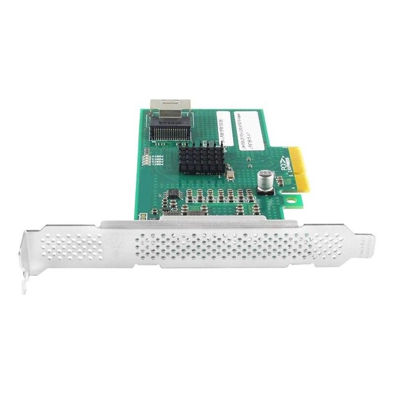 Pcie para sata 3.0 expansor pci-e x1 para 4 portas sata livre unidade extensor adaptador para marvell 9215 chip