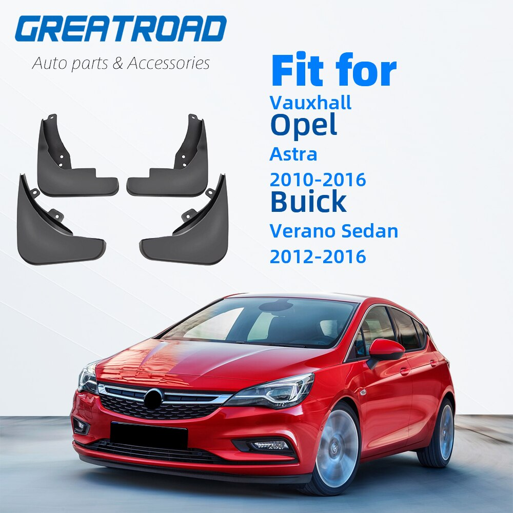 Guardabarros para Vauxhall Opel Astra J Buick Verano 2010-2016, guardabarros 2010 2011 2012 2013 2014 2015