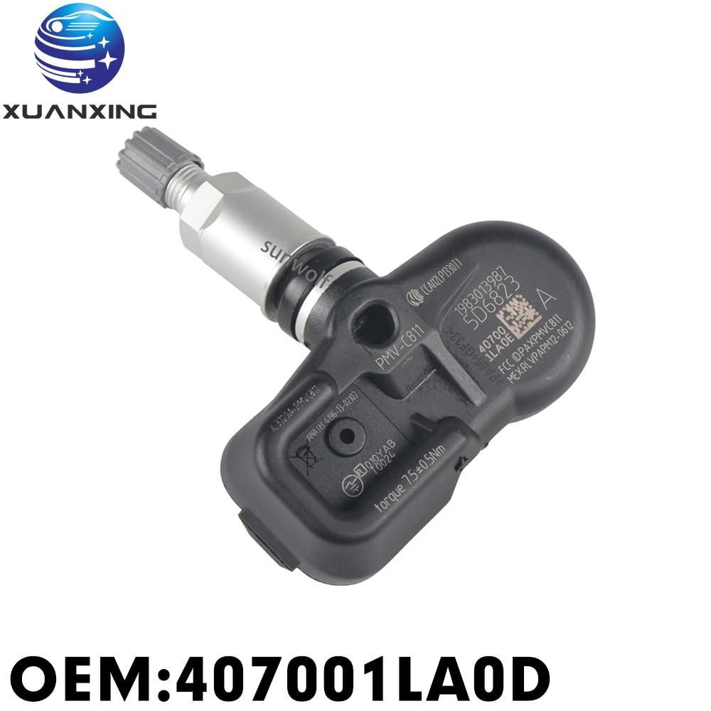 407001LA0D Reifendruck Sensor Überwachung System PWV-C811 315Mhz TPMS Für Nissan Elgrand E52 370Z Cima