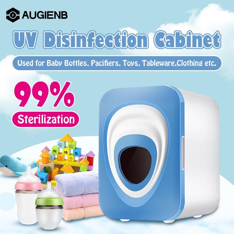 Botella esterilizador UV multifunción 12L para bebé, herramienta de decoración de uñas para salón, gabinetes de desinfección ultravioleta para hornear, caja secadora