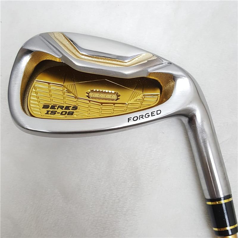 Limit discounts Men's golf right hand golf clubs honma s-06 4 star Golf irons clubs set 4-11Sw.Aw Golf iron club Graphite shaft