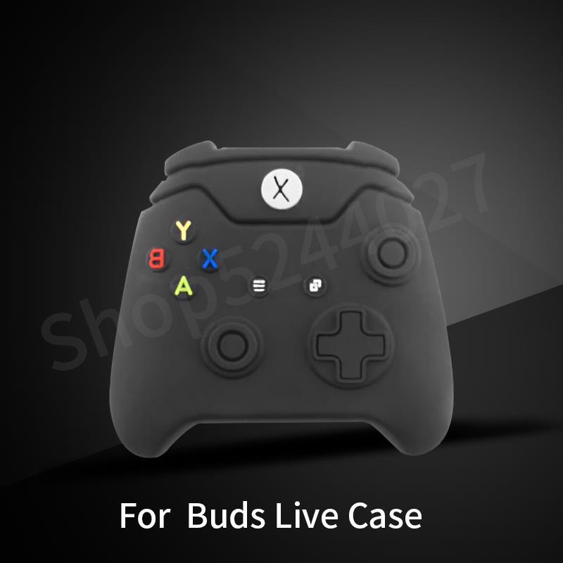 Funda de silicona para auriculares Xbox Game para Samsung Galaxy Buds Live,...