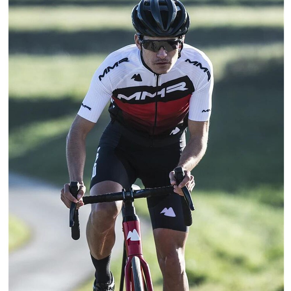 MMR cycling jersey suit summer men short sleeves bib shorts maillot ciclismo mtb team roadbike bike clothing bicycle apparel set