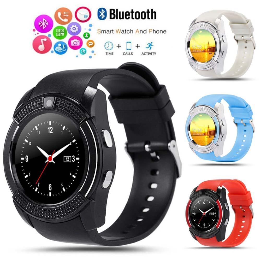 Erilles 2020 relógio inteligente dos homens das mulheres smartwatch para android ios cartão de inserção relógio inteligente de fitness rastreador pulseira silicone smartwatch