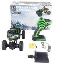 122 Mini FPV 720P كاميرا كهربائية للتحكم عن بعد تسلق سيارة شاطئ عبر البلاد سيارة الصبي لعبة للهواء الطلق للأطفال لعبة هدية