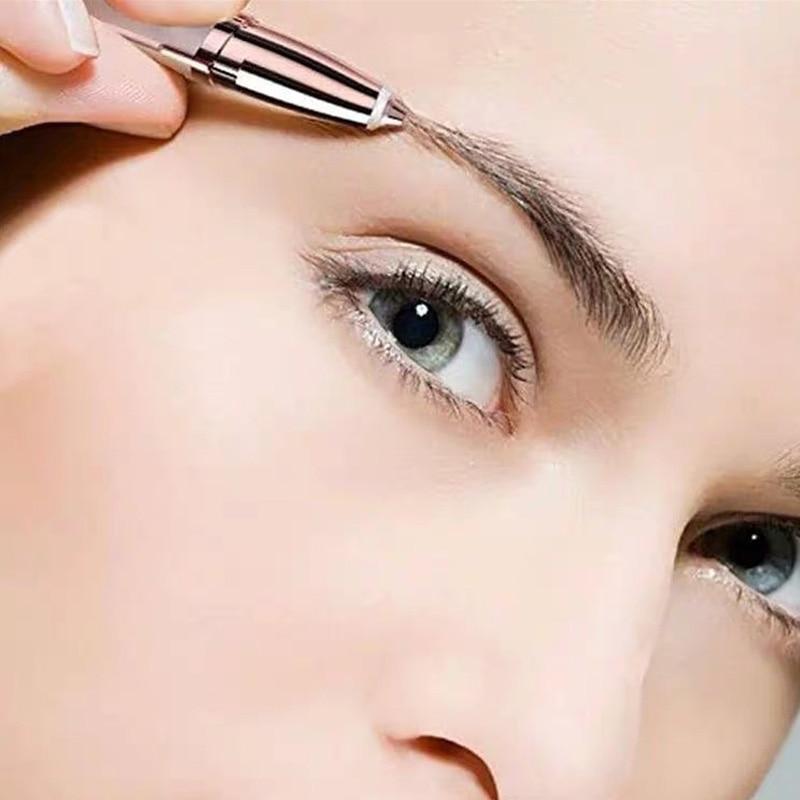 Rasoir de sourcils Trymer do brwi femmes maquillage outils Portable Facial électrique rasoir de sourcils dépilador de cejas yeux sourcils Shaper