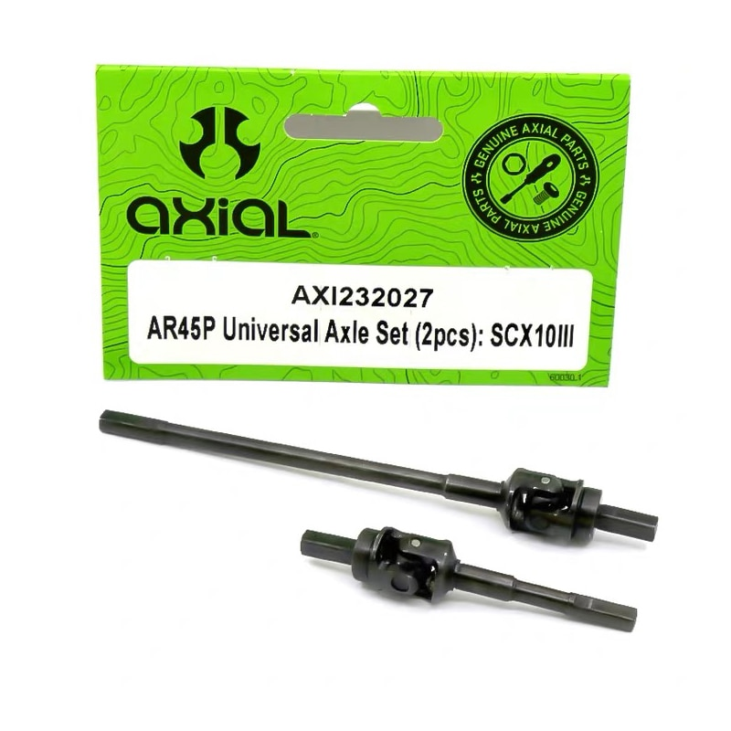 Universal Joint Reinforced Steel CVD 1 Pair For 1/10 RC Crawler car AXIAL SCX10 III AX103007 enlarge