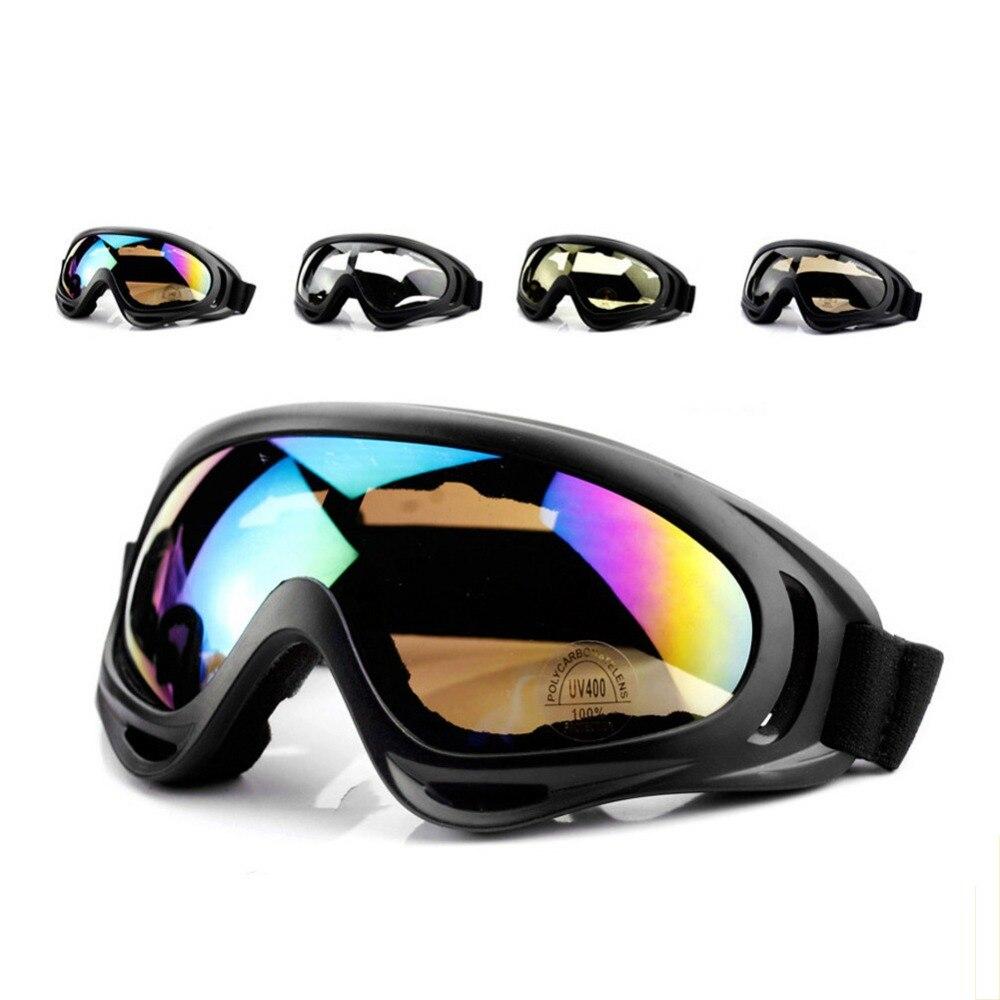 Gafas al aire libre ciclismo motocicleta deportes gafas X400 Sandstorm ventilador equipo táctico gafas de esquí