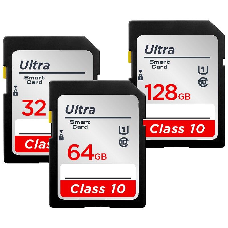 Nueva tarjeta de memoria de cámara 16GB 32GB Clase 10 tarjeta SD cartao 64GB de memoria 128GB tarjeta sd envío gratis
