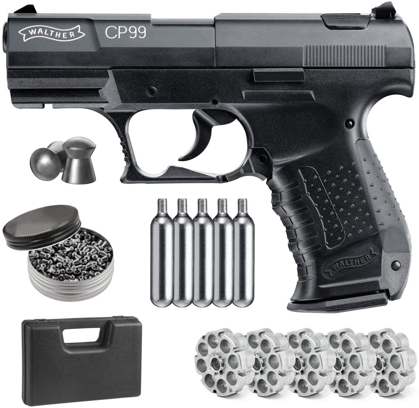 Umarex walther cp99. 177 calibre pistola de ar pistola de metal sinal de parede