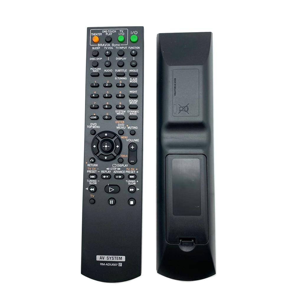 Controle remoto RM-ADU007 Para SONY sistema AV DAVHDZ273 DAVHDX274 HCDHDX275 DAV-HDX279W DAV-HDX576W DAV-HDX277WC