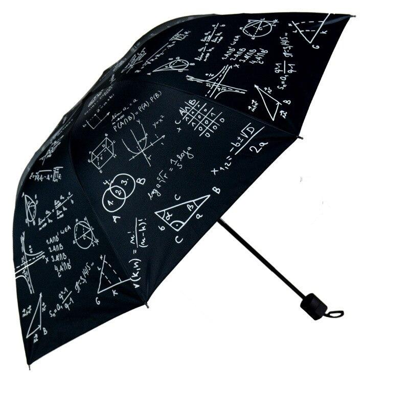 Учебный зонт для математической формулы, большой зонт, Детские Зонты, защита от солнца, ветрозащитный зонт для учеников средней школы