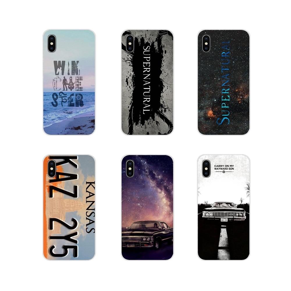 Sobrenatural placa KANSAS KAZ 2Y5 para LG G3 G4 Mini G5 G6 G7 Q6 Q7 Q8 Q9 V10 V20 v30 X Power 2 3 K10 K4 K8 2017 TPU caso