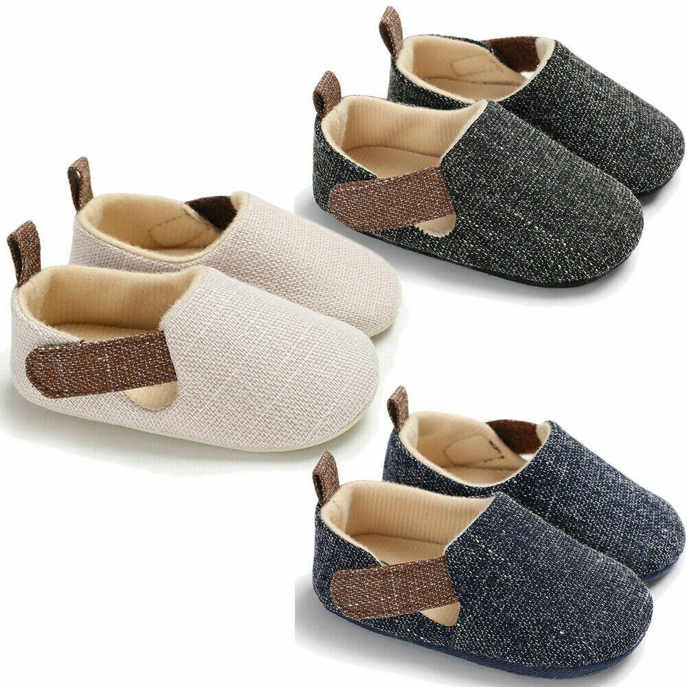 mocassins zapato mocassins AA Newborn Infant Baby Boy Kids Snearkers Pram Mocassins Soft Sole Shoes Toddler Anti-Slip First Walkers Pre Walking Trainers