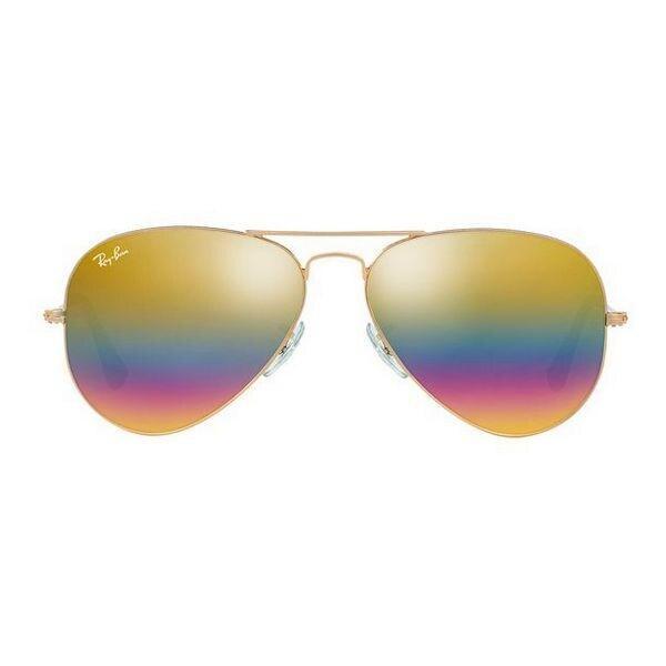 Солнцезащитные очки унисекс Ray-Ban RB3025 9020C4 58 BRZ/SIL (58 мм)