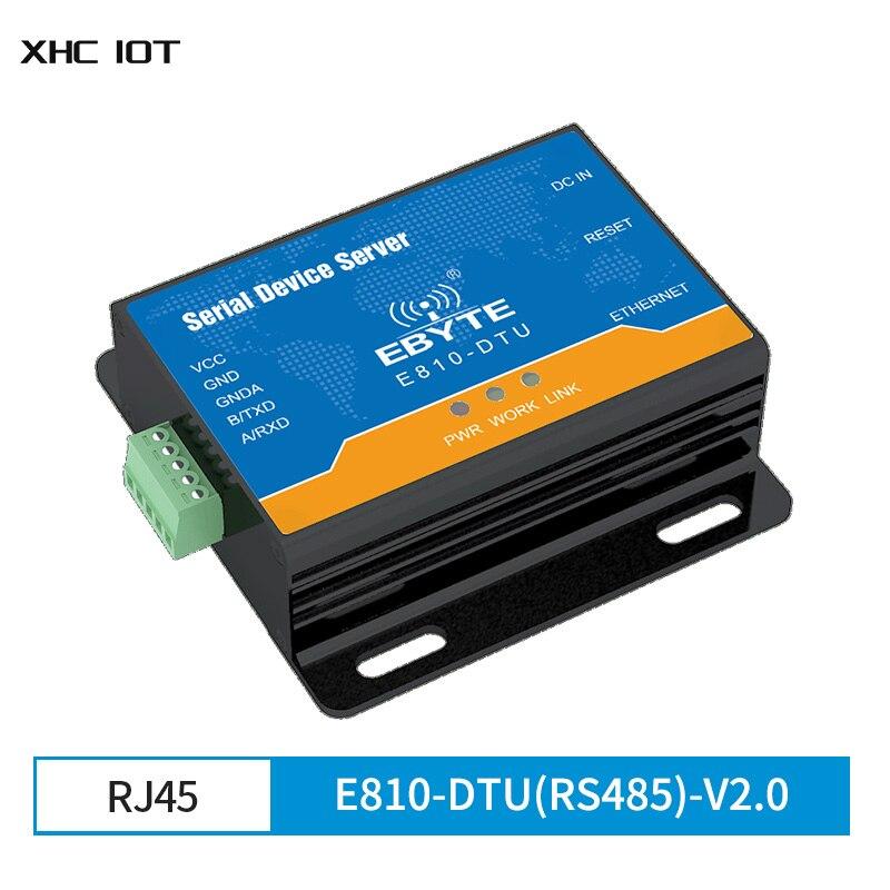 Фото - Ethernet RJ45 to RS485 Serial Port Server Wireless Transceiver Modem E810-DTU(RS485)-V2.0 TCP UDP 100M Full Duplex Module serial port 56k fax modem external modem serial port cat fax cat free driver